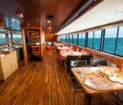 Galapagos Kreuzfahrt Yacht Eric - Restaurant