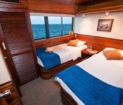 Galapagos Kreuzfahrt Yacht Eric - Zweibettkabine