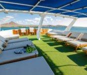Galapagos Kreuzfahrt Yacht Eric - Sonnendeck