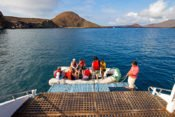 Galapagos Kreuzfahrt Yacht Yolita II - Ausschiffen