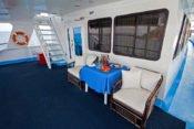 Galapagos Kreuzfahrt Yacht Yolita II - Deck
