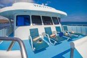 Galapagos Kreuzfahrt Yacht Yolita II - Sonnendeck