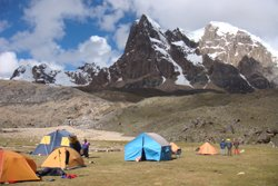 Camp - Peru Bergexpedition Cordillera Volcanica
