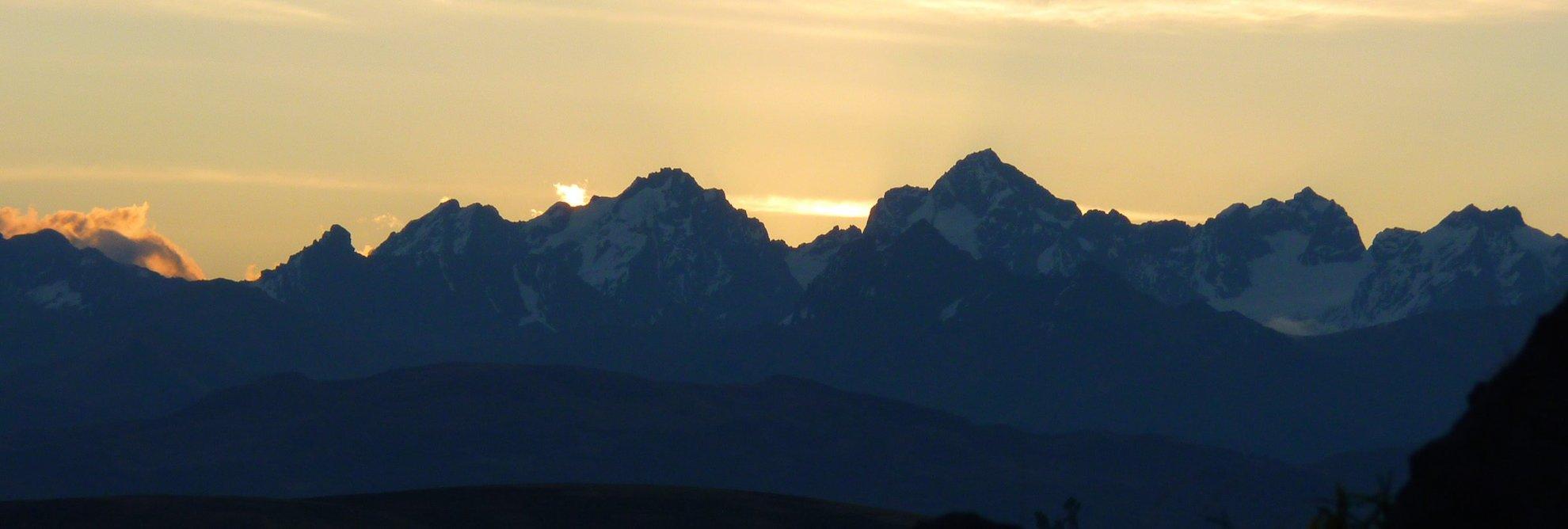 Peru Bergexpedition Cordillera Volcanica