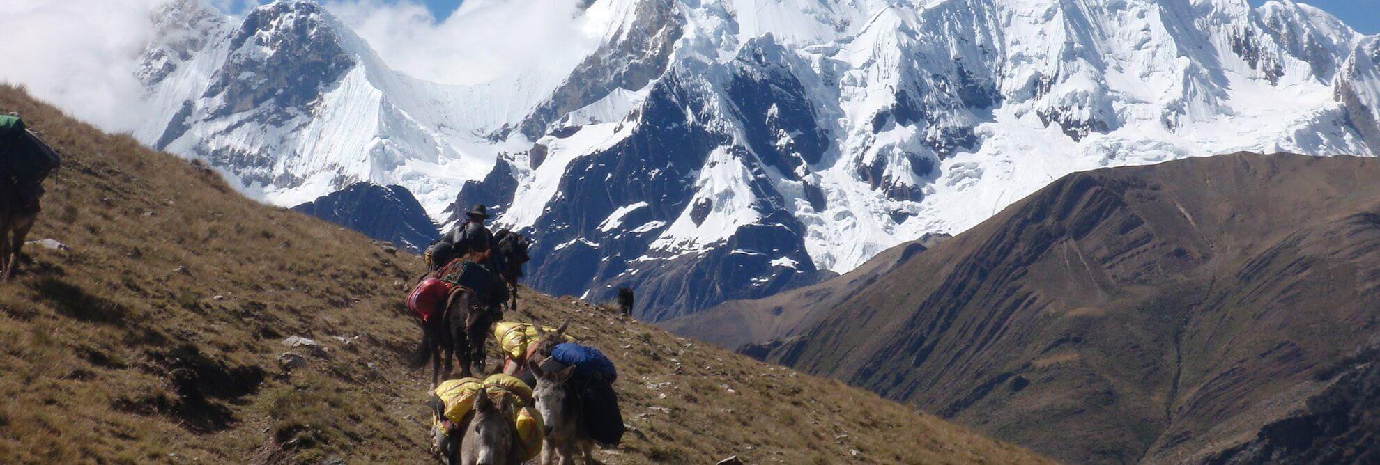 Cordillera Huayhuash Umrundung - Trekking Peru
