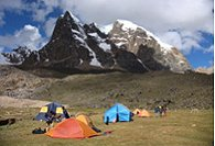 Camp - Umrundung Cordillera Huayhuash