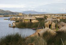 Insel Uros Titicaca