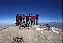 Auf dem Gipfel des Chachani - Peru Bergexpedition