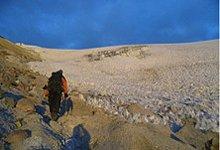 Wanderung im Hochland Perus