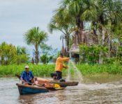 Cattleya Journey - Bewohner Amazonas bei Fischen