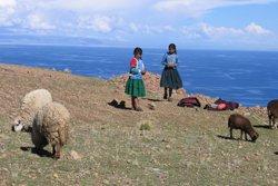 Peru Rundreise - Amantani, Titicaca See