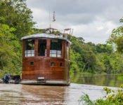 Amazonas Kreuzfahrt Peru - Cattleya Journey von hinten