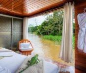 Cattleya Journey - Kabinenaussicht auf den Fluss