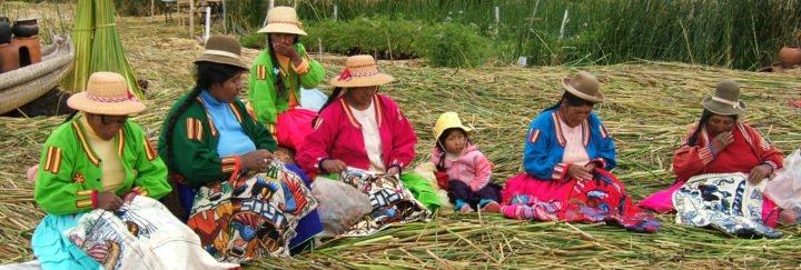 Peru Reise - Titicaca See