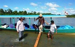 Amazonas Expedition - überdachtes Kanue
