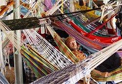 Amazonas Expedition - Hängemattendeck eines Amazonas Frachtschiffes