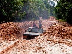 Amazonas Expedition - abenteuerliche Wege mit dem Pick Up