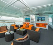 Galapagos Kreuzfahrt Yacht Galaven - Deck