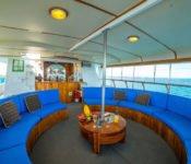 Galapagos Kreuzfahrt Yacht Reina Silvia - Sonnendeck