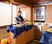 Tauchkreuzfahrt Yacht Galapagos Aggressor III - Buffet