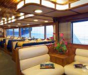 Tauchkreuzfahrt Yacht Galapagos Aggressor III - Essraum
