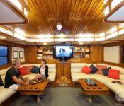 Tauchkreuzfahrt Yacht Galapagos Aggressor III - Lounge