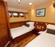 Galapagos Kreuzfahrt Yacht Galaven - Zweibettkabine