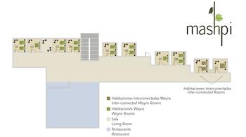 Gebäudeplan Mashpi Lodge