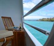Galapagos Kreuzfahrt KatamaranCormorant - Balkon