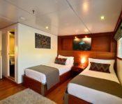 Galapagos Kreuzfahrt Katamaran Athala II - Zweibettkabine