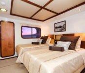 Galapagos Kreuzfahrt KatamaranCormorant - Zweibettkabine