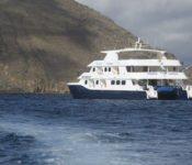 Katamaran Cormorant - Galapagos Kreuzfahrt