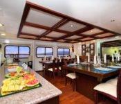 Galapagos Kreuzfahrt KatamaranCormorant - Buffet