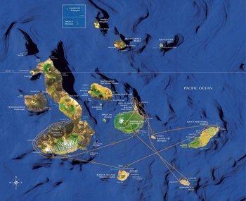 Galapagos Kreuzfahrt Route A Eclipse