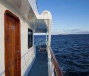 Galapagos Kreuzfahrt Yacht Galaven - Reeling