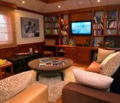 Eclipse Galapagos Kreuzfahrtschiff - Bibliothek