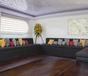 Galapagos Kreuzfahrt Katamaran Petrel - Lounge