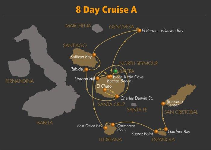 Galapagos Kreuzfahrt Yacht Galaven  Galapagos Reise