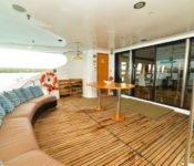 Galapagos Kreuzfahrt Yacht Majestic - Deck