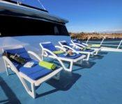 Galapagos Kreuzfahrt Yacht Galaven - Sonnendeck
