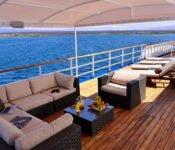 Eclipse Galapagos Kreuzfahrtschiff - Sonnendeck