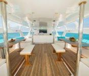 Galapagos Kreuzfahrt Yacht Majestic - Sonnendeck