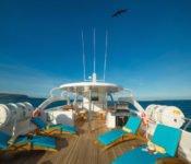 Majestic Galapagos Kreuzfahrt Yacht - Sonnendeck