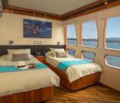 Majestic Galapagos Kreuzfahrt Yacht - Zweibettkabine