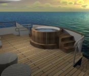 Galapagos Kreuzfahrtyacht Origin - Jacuzzi