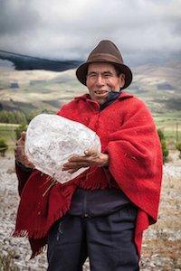 Besuch beim letzten Eisbrecher am Chimborazo auf der Zugreise durch Ecuador