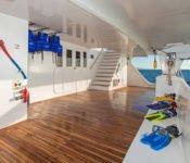Tip Top II Galapagos Kreuzfahrt Katamaran - Zwischendeck