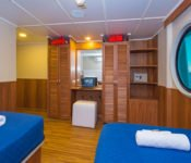 Tip Top II Galapagos Kreuzfahrt Katamaran - Zweibettkabine