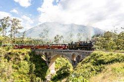 Zugreise durch Ecuador Tag 1