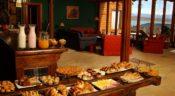 Hotel La Cantera, El Calafate - Frühstücksbuffet